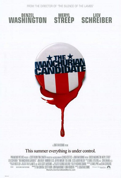 THE MANCHURIAN CANDIDATE (DOUBLE SIDED Regular) (2004) ORIGINAL CINEMA POSTER