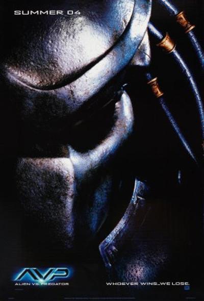 ALIEN VS PREDATOR (Predator - DOUBLE SIDED Advance) (2004) ORIGINAL CINEMA POSTER