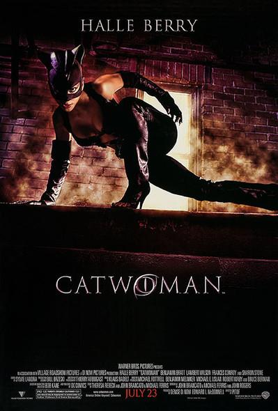 CATWOMAN (DOUBLE SIDED Regular) (2004) ORIGINAL CINEMA POSTER