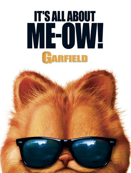 GARFIELD THE MOVIE (SINGLE SIDED Advance) (2004) ORIGINAL CINEMA POSTER