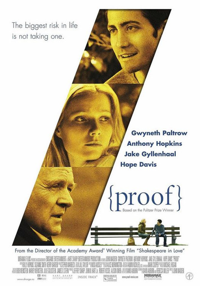 PROOF (SINGLE SIDED Regular) (2005) ORIGINAL CINEMA POSTER
