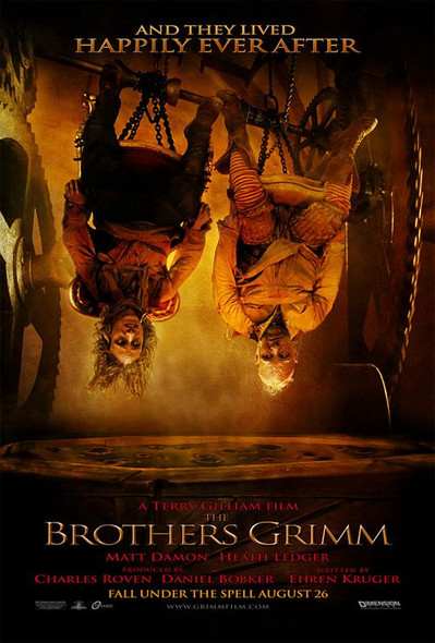 THE BROTHERS GRIMM (DOUBLE SIDED Advance Style C) (2005) ORIGINAL CINEMA POSTER