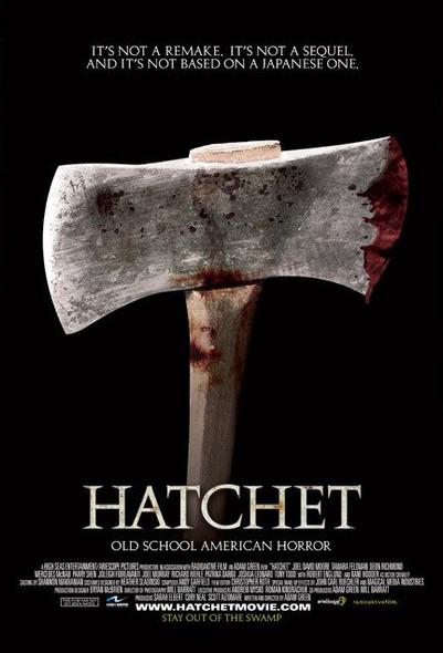 HATCHET (SINGLE SIDED Regular) (2006) ORIGINAL CINEMA POSTER