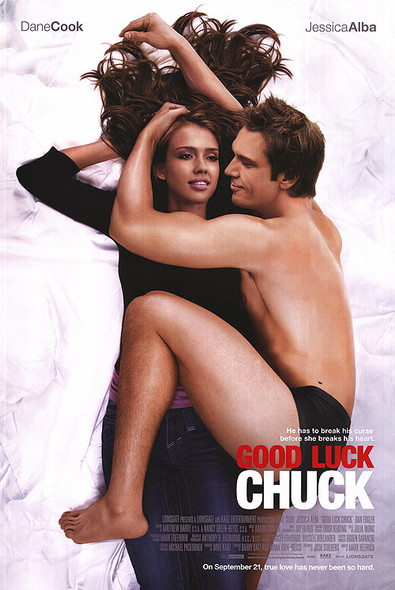GOOD LUCK CHUCK (SINGLE SIDED Regular) (2007) ORIGINAL CINEMA POSTER