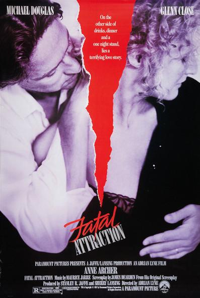FATAL ATTRACTION (1987) ORIGINAL CINEMA POSTER