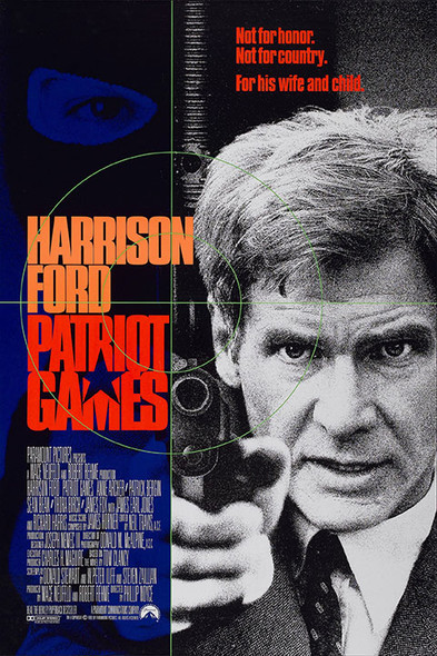 PATRIOT GAMES (1992) ORIGINAL CINEMA POSTER