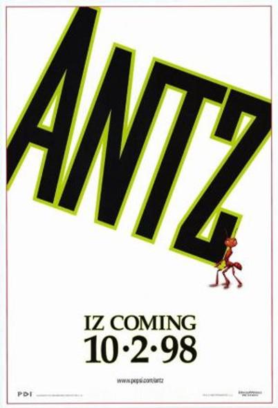 ANTZ (SINGLE SIDED Advance) (1998) ORIGINAL CINEMA POSTER