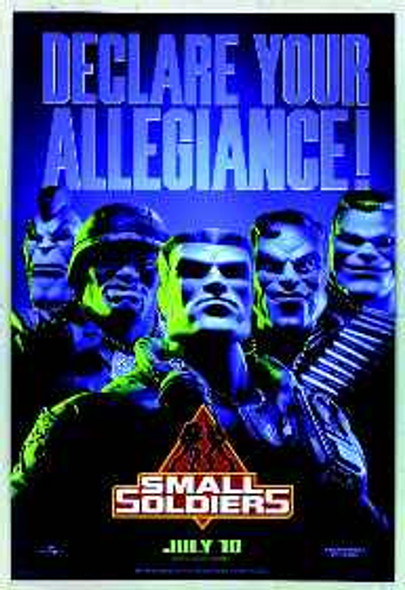 SMALL SOLDIERS (1998) ORIGINAL CINEMA POSTER