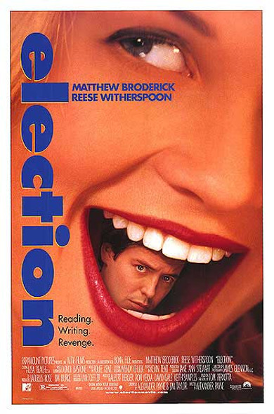 ELECTION (1999) ORIGINAL CINEMA POSTER