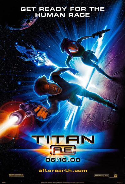 TITAN A.E (Style A) (SINGLE SIDED) (2000) ORIGINAL CINEMA POSTER