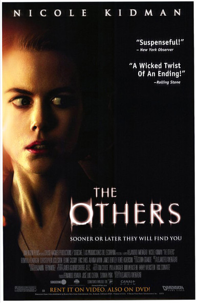 THE OTHERS (SINGLE SIDED Video) (2001) ORIGINAL CINEMA POSTER