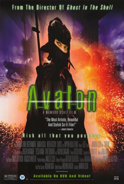 AVALON (SINGLE SIDED Video) (2001) ORIGINAL CINEMA POSTER