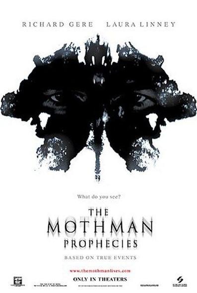 THE MOTHMAN PROPHECIES (DOUBLE SIDED) (2002) ORIGINAL CINEMA POSTER