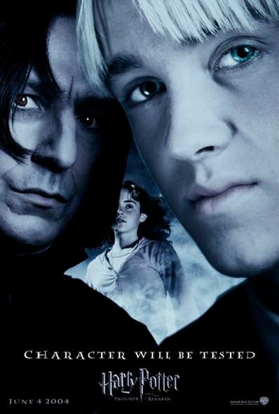 HARRY POTTER AND THE PRISONER OF AZKABAN (Snape Reprint) (2004) REPRINT CINEMA POSTER