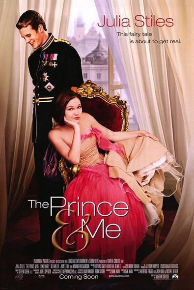 THE PRINCE & ME (DOUBLE SIDED Regular) (2004) ORIGINAL CINEMA POSTER