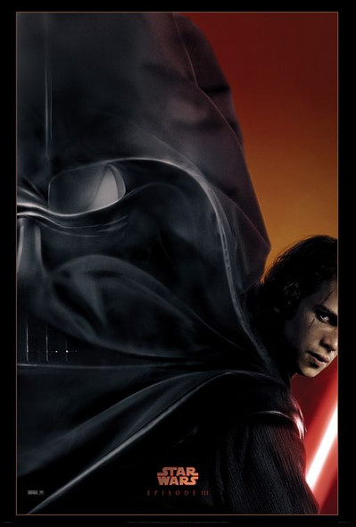 STAR WARS EPISODE III - REVENGE OF THE SITH (DS ADV RPT) (2005) REPRINT CINEMA POSTER