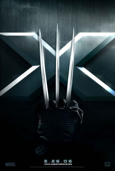 X-MEN 3 (SINGLE SIDED Advance) (2006) ORIGINAL CINEMA POSTER