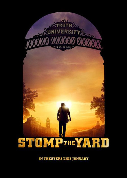 STOMP THE YARD (DOUBLE SIDED Advance) (2007) ORIGINAL CINEMA POSTER