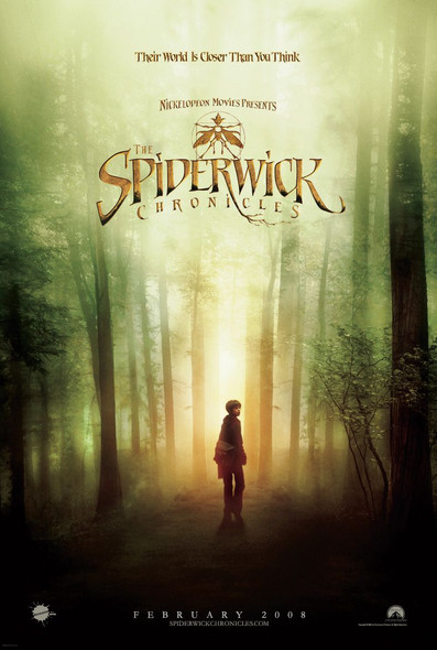 THE SPIDERWICK CHRONICLES (DOUBLE SIDED Advance) (2008) ORIGINAL CINEMA POSTER