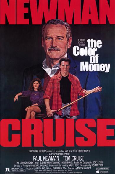 THE COLOR OF MONEY (Reprint) (1986) REPRINT CINEMA POSTER