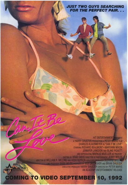 CAN IT BE LOVE (SINGLE SIDED Video) (1992) ORIGINAL CINEMA POSTER