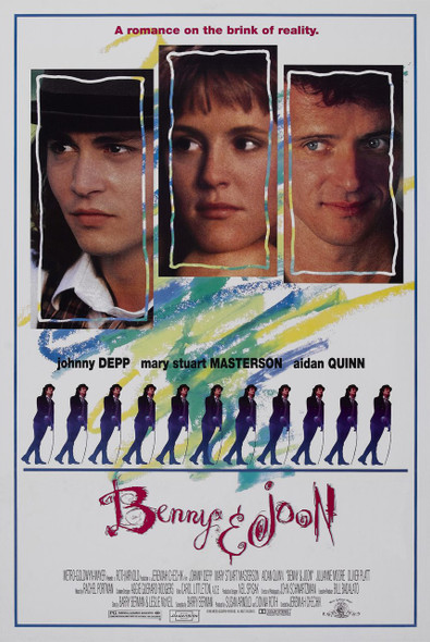 BENNY AND JOON (DOUBLE SIDED Style B) (1993) ORIGINAL CINEMA POSTER