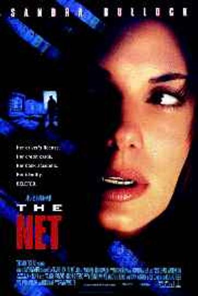 THE NET (Reprint) (1995) REPRINT CINEMA POSTER