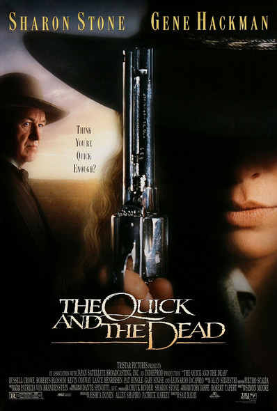 The Quick and The Dead Original Movie Poster US One Sheet