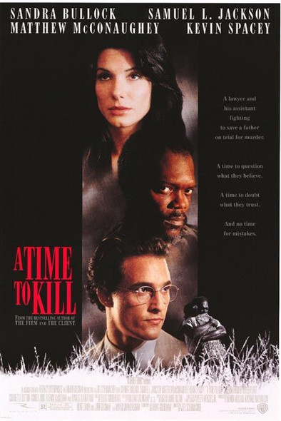 A TIME TO KILL (1996) ORIGINAL CINEMA POSTER