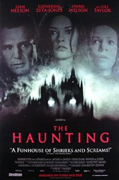 THE HAUNTING (Video) (1999) ORIGINAL CINEMA POSTER