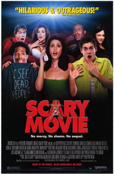 SCARY MOVIE (Video) (2000) ORIGINAL CINEMA POSTER