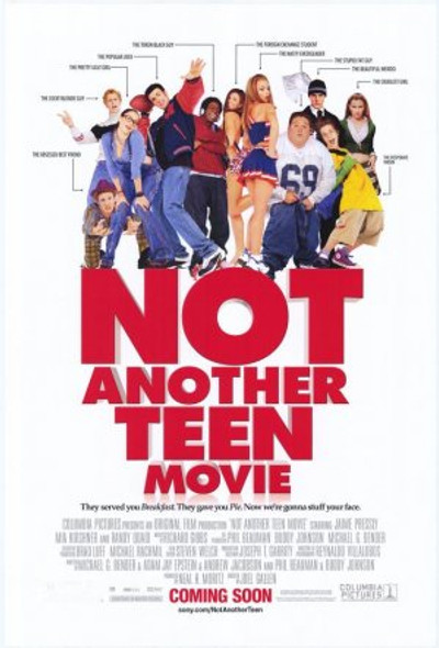 NOT ANOTHER TEEN MOVIE (DOUBLE SIDED) (2001) ORIGINAL CINEMA POSTER