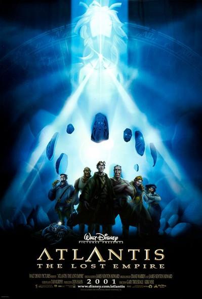 ATLANTIS (DOUBLE SIDED International) (2001) ORIGINAL CINEMA POSTER