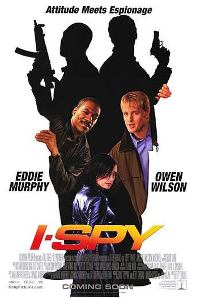 I SPY (DOUBLE SIDED International) (2002) ORIGINAL CINEMA POSTER