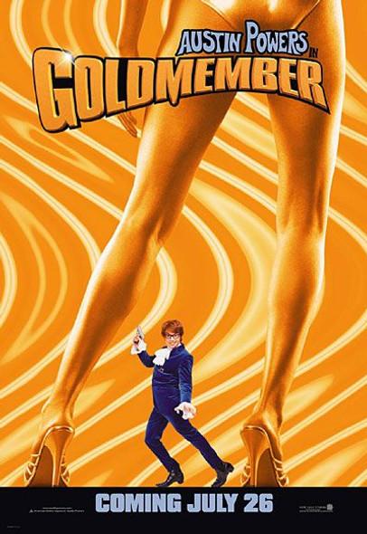 GOLDMEMBER (Advance Reprint) (2002) REPRINT CINEMA POSTER