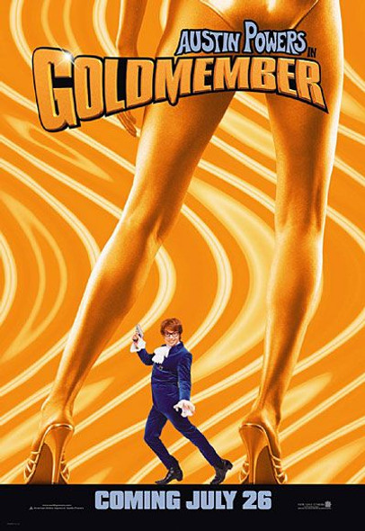 GOLDMEMBER (Advance Reprint) (2002) REPRINT CINEMA POSTER