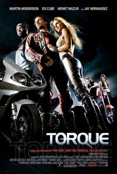 TORQUE (DOUBLE SIDED Regular) (2004) ORIGINAL CINEMA POSTER