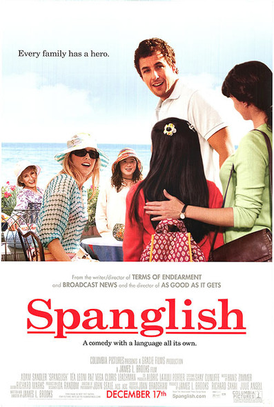 SPANGLISH (SINGLE SIDED Regular) (2004) ORIGINAL CINEMA POSTER