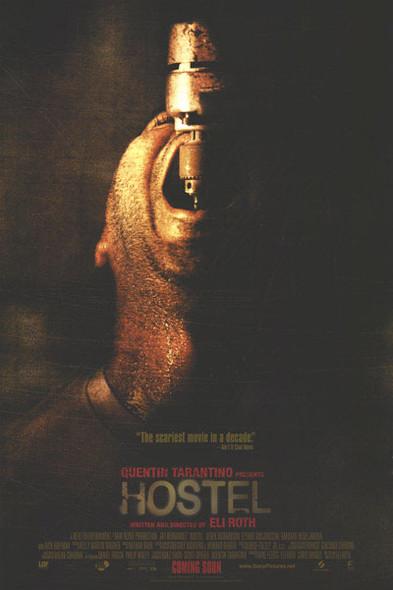 HOSTEL (Double-sided Regular Drill) (2005) ORIGINAL CINEMA POSTER