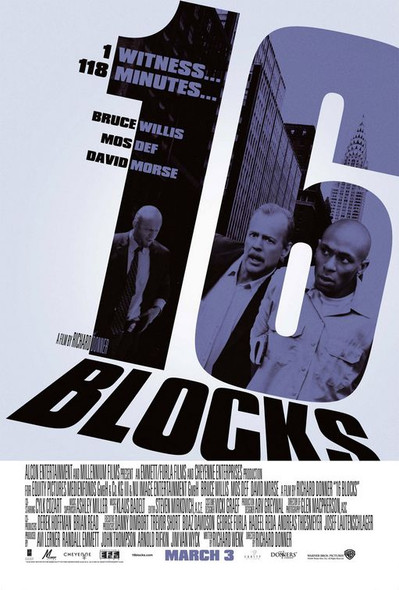 16 BLOCKS (Double-sided Regular) (2006) ORIGINAL CINEMA POSTER