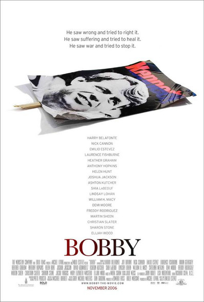 BOBBY (SINGLE SIDED Regular) (2006) ORIGINAL CINEMA POSTER