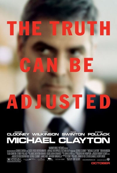 MICHAEL CLAYTON (DOUBLE SIDED Regular) (2007) ORIGINAL CINEMA POSTER