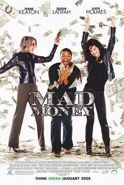 MAD MONEY (DOUBLE SIDED Regular) (2008) ORIGINAL CINEMA POSTER