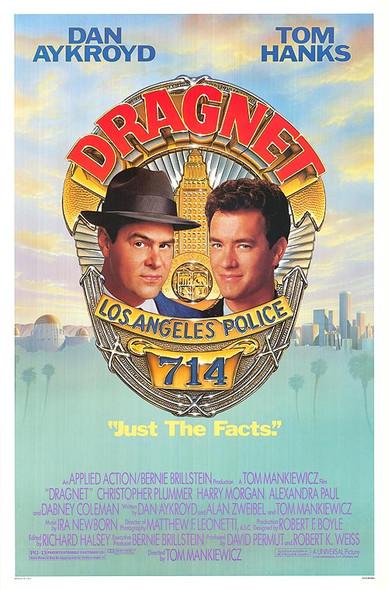 DRAGNET (1987) ORIGINAL CINEMA POSTER