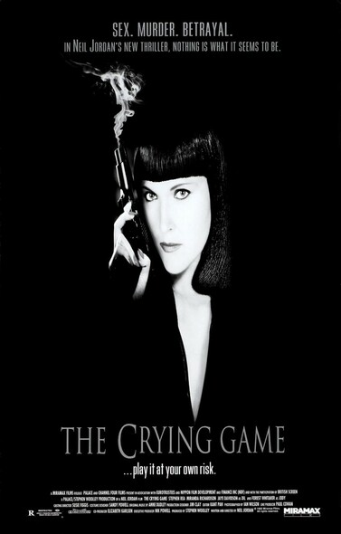 THE CRYING GAME (SINGLE SIDED Regular) (1992) ORIGINAL CINEMA POSTER