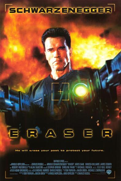 ERASER (International) (1996) ORIGINAL CINEMA POSTER
