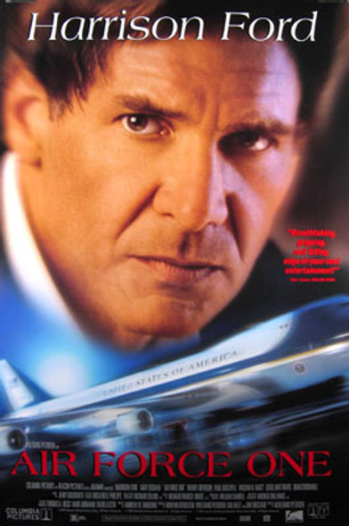 AIR FORCE ONE (1997) ORIGINAL CINEMA POSTER
