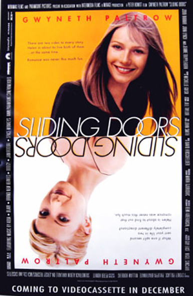 SLIDING DOORS (Video) (1998) ORIGINAL CINEMA POSTER