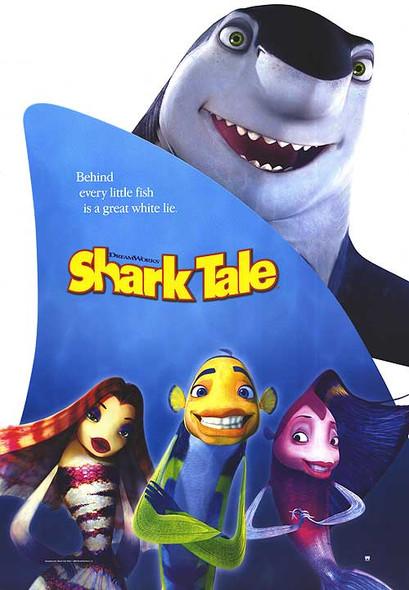 SHARK TALE (Shark Reprint) (2004) REPRINT CINEMA POSTER