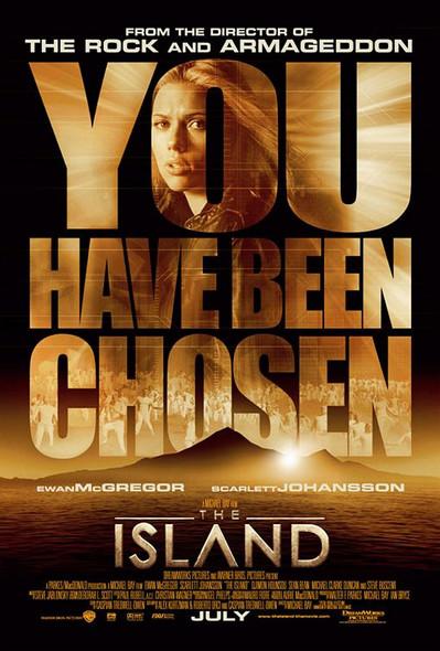 THE ISLAND (DOUBLE SIDED Regular) (2005) ORIGINAL CINEMA POSTER